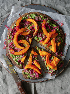 Top ten vegetarian christmas recipes anna jones seeded pistachio and squash galette forumfinder Choice Image